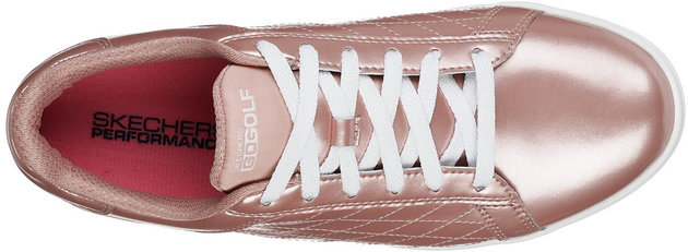 Skechers GO GOLF Drive Womens Golf Shoes Rosegold 38