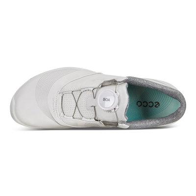 Ecco Biom Hybrid 3 Womens Golf Shoes White/Emerald 39