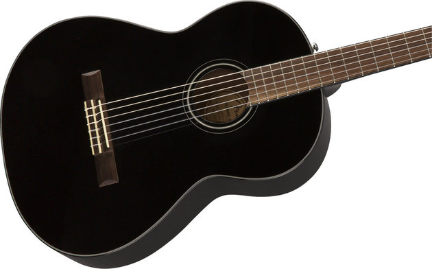 Fender CN-60S Nylon WN Black