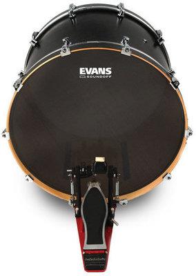 Evans SoundOff Drumhead 24'' Black