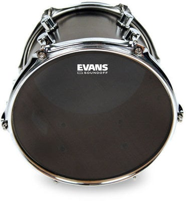 Evans SoundOff Tom Batter Drumhead 18'' Black