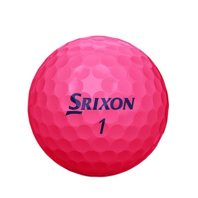 Srixon Soft Feel 12 Golf Balls Lady Pink Dz