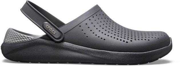 Crocs LiteRide Clog Black/Slate Grey 37-38