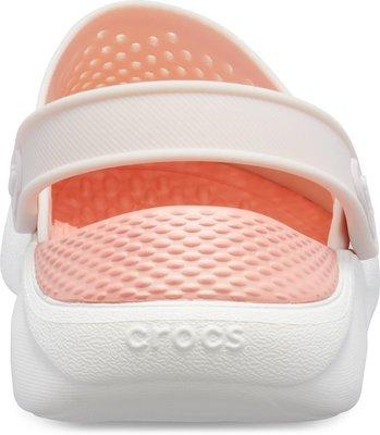 Crocs Lite Ride Clog Unisex Barely Pink/White 42-43
