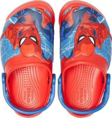 Crocs Fun Lab SpiderMan Light Clog Boys Flame 25-26