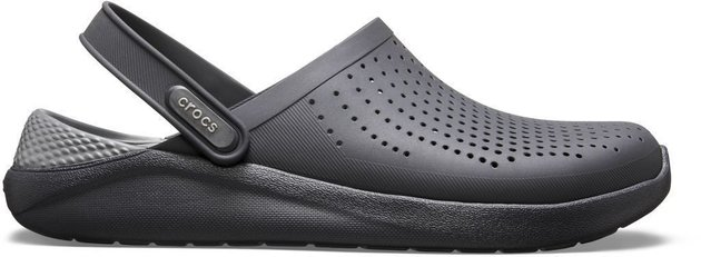 Crocs Lite Ride Clog Unisex Black/Slate Grey 43-44