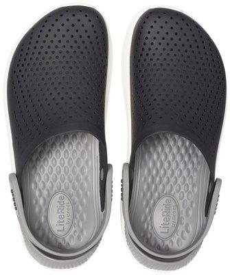 Crocs LiteRide Clog Black/Smoke 36-37