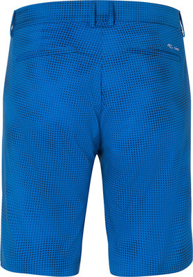 Kjus Inaction Printed Mens Shorts Pacific Blue 33