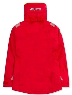 Musto Womens BR2 Offshore Jacket True Red/True Red L