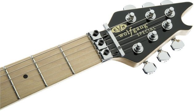 EVH Wolfgang Special MN Black and White Stripes