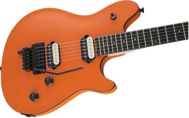 EVH Wolfgang Special Ebony Satin Orange Crush