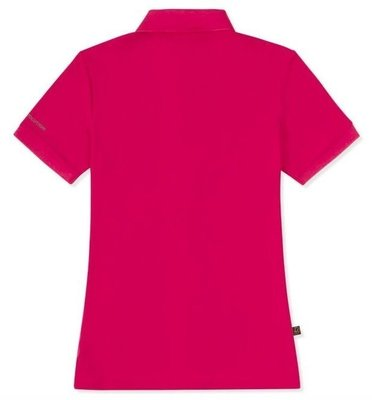 Musto Womens Evolution Pro Lite Plain SS Polo Magenta XS