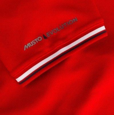 Musto Evolution Pro Lite SS Polo True Red L