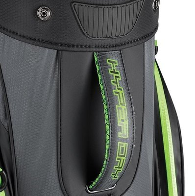 Callaway Hyper Dry Lite Double Strap Titanium/Black/Green Stand Bag 2019