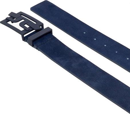 J.Lindeberg Wing Brushed Leather Golf Belt JL Navy 100