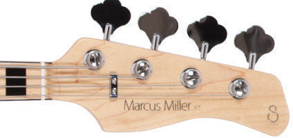 Sire Marcus Miller V7 Vintage Ash-4-Bright Metallic Red 2nd Gen