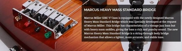 Sire Marcus Miller V7 Alder-5 Tobacco Sunburst 2nd Gen