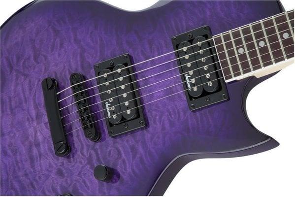 Jackson JS Series Monarkh SC JS22Q Amaranth Transparent Purple Burst