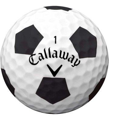 Callaway Chrome Soft 2018 Truvis Balls Black