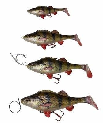 Savage Gear 4D Perch Shad 12.5 cm 25 g SS 01-Perch