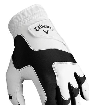 Callaway Opti Fit Mens Golf Glove 2019 White LH