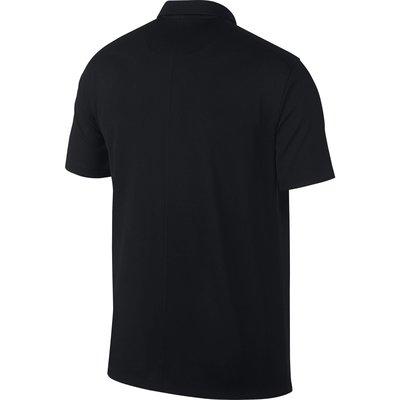 Nike Dry Essential Solid Mens Polo Shirt Black/Cool Grey L