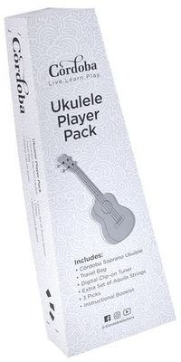 Cordoba Ukulele Player Pack