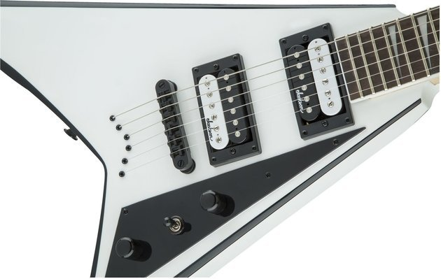 Jackson JS32T Rhoads White with Black