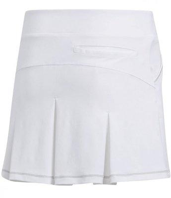 Adidas Solid Pleat Girls Skort White 14-15Y