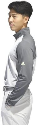 Adidas 3-Stripes Competition 1/4 Zip Mens Sweater Grey Five/Grey Two M