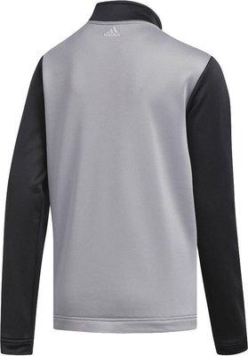Adidas Colorblocked Layer Junior Sweater Grey Three 9-10Y