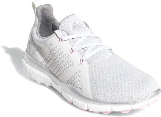 Adidas Climacool Cage Női Golf Cipők Grey OneSilver MetallicTrue Pink UK 9,5