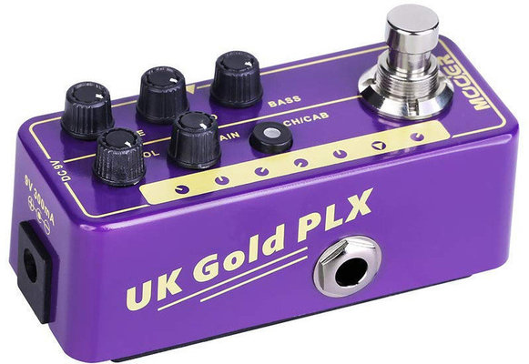 MOOER Micro PreAmp 019 UK Gold PLX