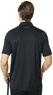 Oakley Ace Herren Poloshirt Blackout XL