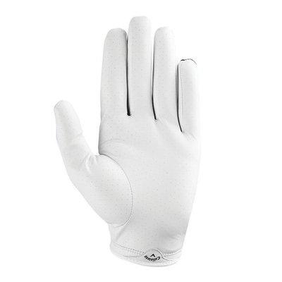 Callaway X-Spann Mens Golf Glove 2019 White/Black LH S