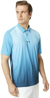 Oakley Infinity Line Herren Poloshirt Stormed Blue XL
