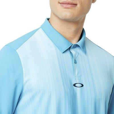 Oakley Infinity Line Pánské Golfové Polo Stormed Blue L