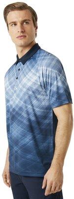 Oakley Barkie Gradient Herren Poloshirt Fathom M