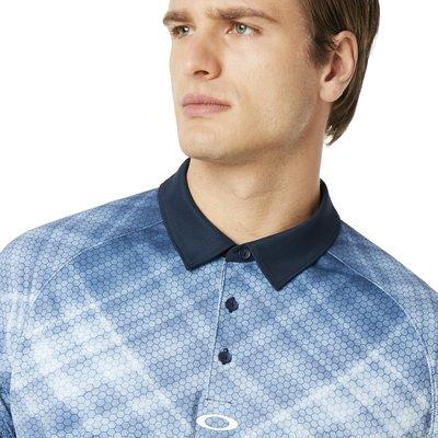 Oakley Barkie Gradient Herren Poloshirt Fathom XL