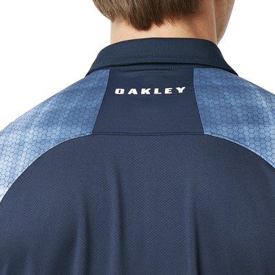 Oakley Barkie Gradient Herren Poloshirt Fathom L