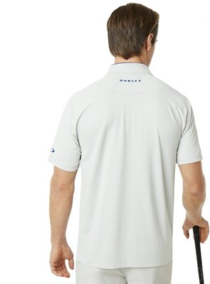 Oakley Golo Herren Poloshirt Light Grey L