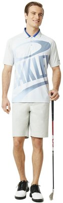 Oakley Golo Herren Poloshirt Light Grey XL