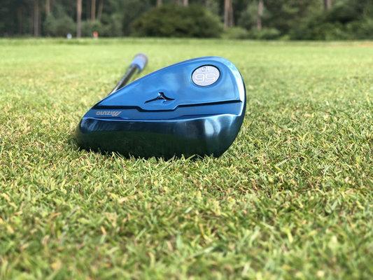 Mizuno S18 Wedge Blue IP 48 Dynamic Gold