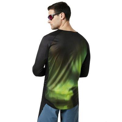 Oakley MTB LS Tech Tee Aurora Borealis XL