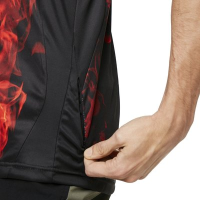 Oakley MTB SS Tech Tee Flames XL