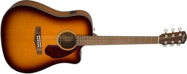 Fender CD-140SCE Dreadnought WN Sunburst