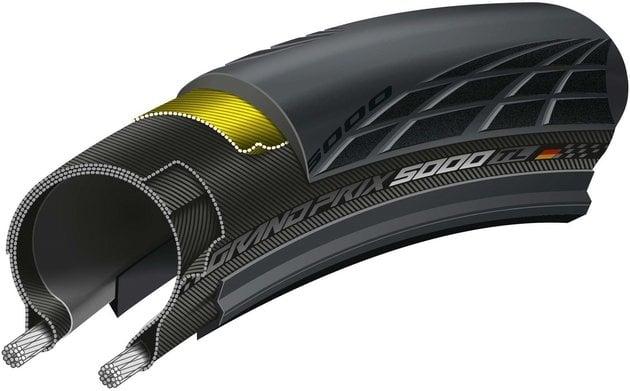 Continental Grand Prix TL 5000 Kevlar/Tubeless 25''