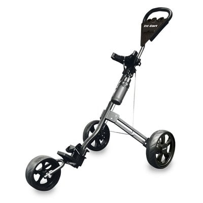 Longridge Tri Cart Black Golf Trolley