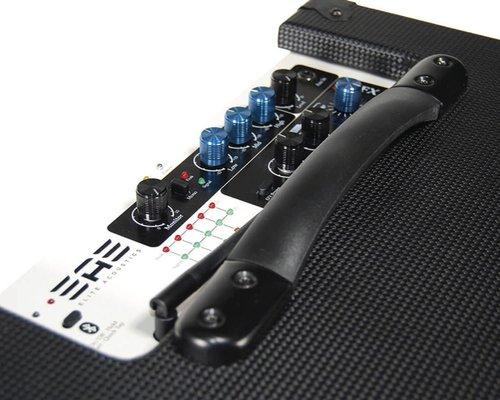 Elite Acoustics A6-55 Stereo Acoustic Amplifier Fiber Black