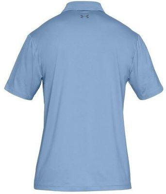 Under Armour UA Performance Mens Polo Shirt Boho Blue 2XL